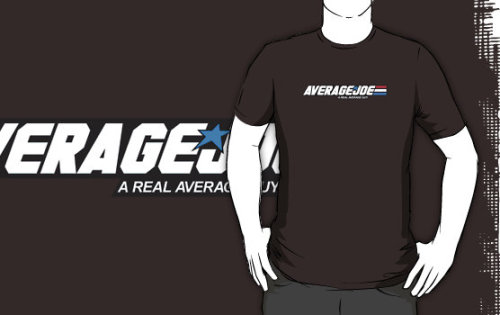 """Average Joe"" T-Shirts & Hoodies by Blayde 