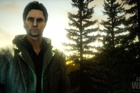 Remember this game? Scary rright? Alan wake