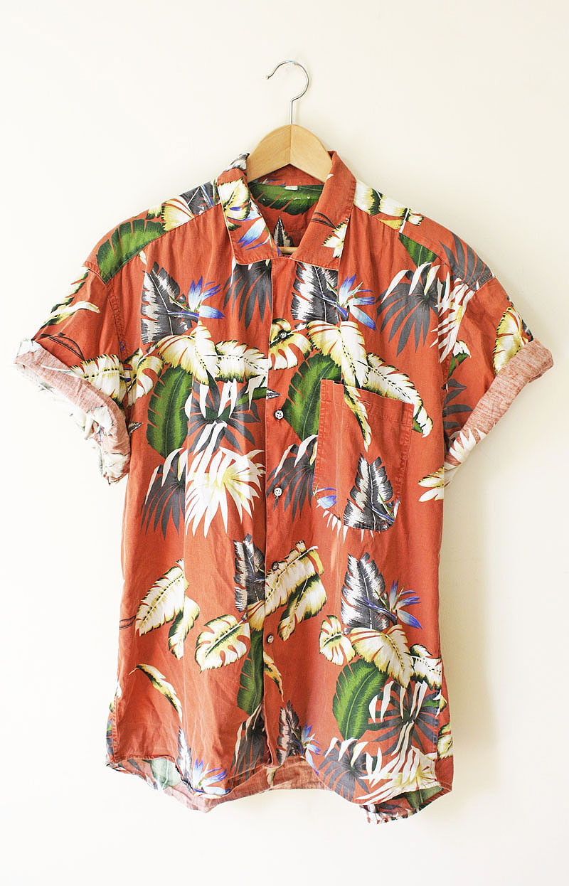 cmbkofficial:  Tropical Plant Printed Shirt available at CMBK