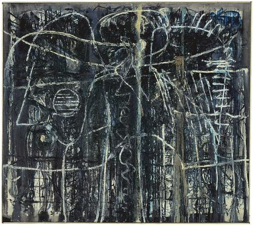 cinoh:Richard Pousette-Dart Night World, 1948