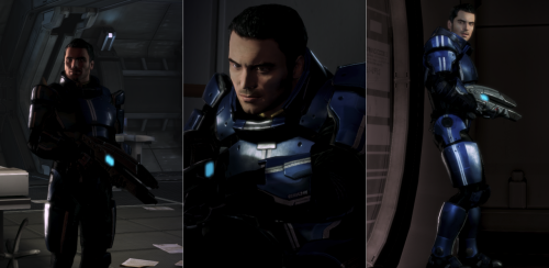 comediaace:  Did I mention that today is a Kaidan day?     —- Mass Effect re-play screenie collection. (http://social.bioware.com/1517619/blog/47401)