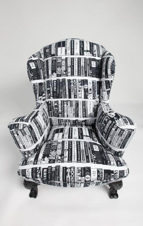 redlegsupholstery:  The Reading Chair (Photography by Toby Summerskill)
