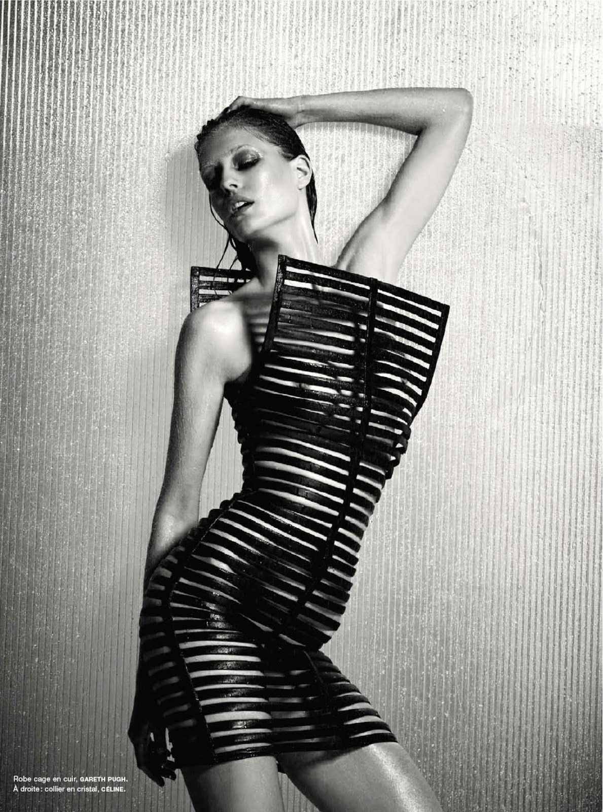Nadja Bender in Gareth Pugh for Numéro Magazine June/July 2012 by Warren du Preez & Nick Thornton Jones