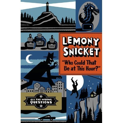 Who could that be at this hour? Why, it's Lemony Snicket, who's back with a new autobiographical book; check out its mysterious first chapter exclusively at our site.