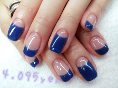 Hail Nails - Blueberry Jelly Tips
