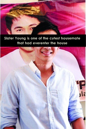 """Slater Young is one of the cutest housemate that had ever enter the house"""