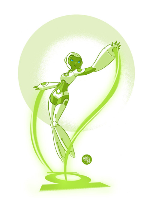 Aya (Green Lantern) | by Mike Maihack (mikemaihack)