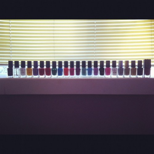 My Barry M collection  (Taken with instagram)