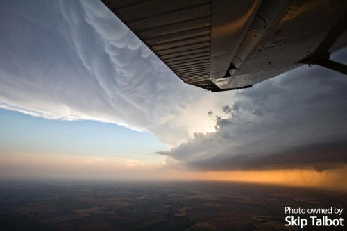 Daredevils Chase from the Sky Two pilots took storm chasing to a new extreme last week by chasing supercells by plane.