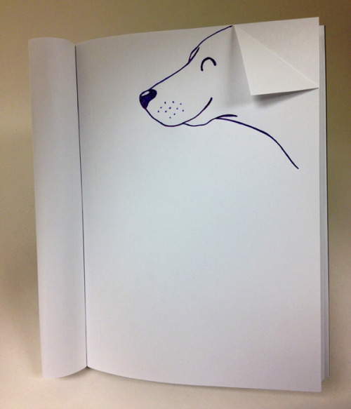 annaswens:  duttonbooks:  Dog ear.  Dogs + books