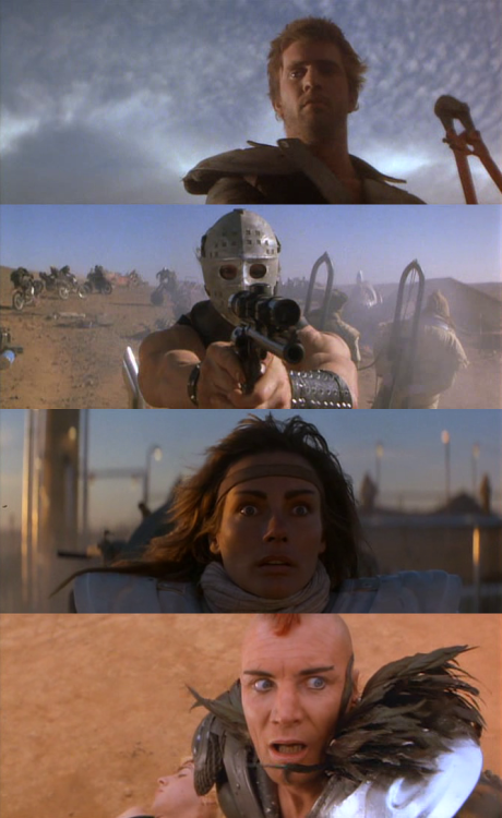 Mad Max 2:The Road Warrior, 1981 (dir. George Miller)By quello-nello-specchio