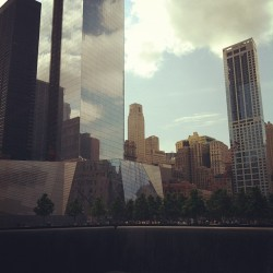 eletheowl:  9/11 memorial (Taken with instagram)