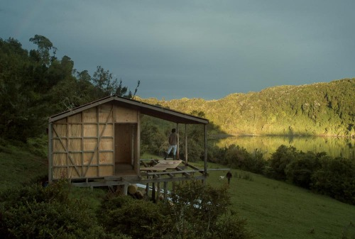 cabinporn:  Cabin in progress in Chiloé, Chile. Submitted by Marcos Zeger.