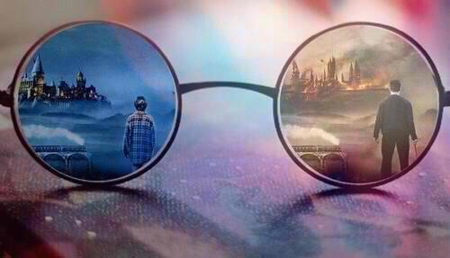 Sometimes I don't even think about how much Harry Potter changed my life, because Harry Potter is my life.  I can't remember not knowing Harry Potter.  I'll always be grateful for the story, because it made me believe in magic.  Not necessarily spells and potions, but the magic of books and imagination, a magic no one can take away from me.