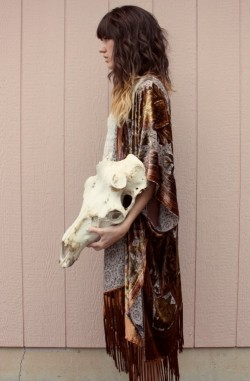 LOVE my elk skull. New post on other blog, www.themoptop.com