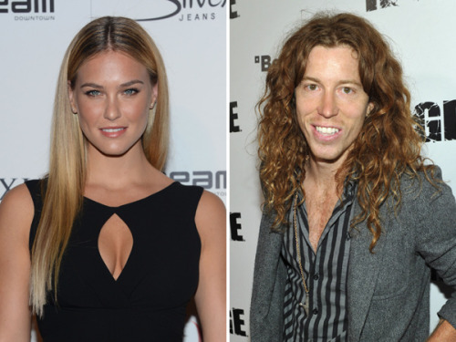 REPORT: Bar Refaeli dating pro snowboarder Shaun White…  Do you think these two make a good couple?