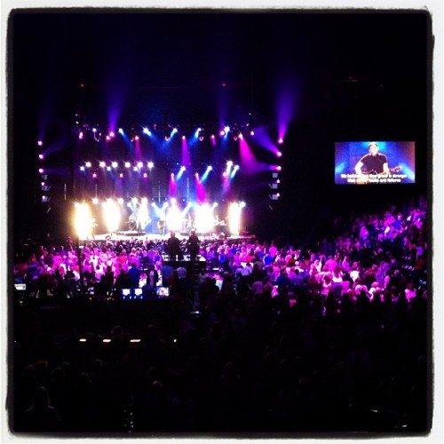 Worshipping with Matt Redman! (Taken with instagram)