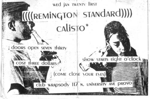 Remington Standard, Calisto, 1998 (Club Wrapsody) -submitted by Chad