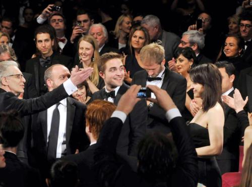 That moment Robert Pattinson realizes he has finally arrived as an actor.