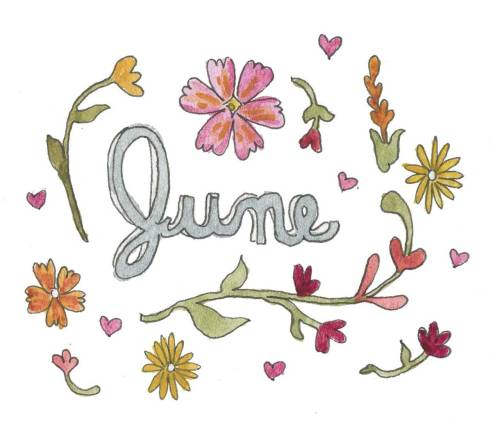 153/366 Oh, June. I'm very much looking forward to you. Three of my friends are getting married and I'm also moving to the gulf coast! This month should be exciting.