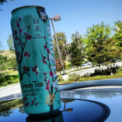 Delicious! #arizona #greentea  (Taken with instagram)