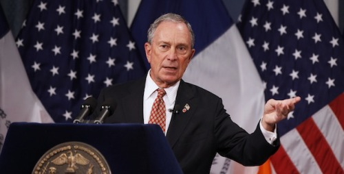"theatlantic:  A Modest Proposal: New York Should Outlaw Bloomberg Terminals  Look at Mayor Michael Bloomberg, standing behind a podium, as he so often does in his job. It's in that upright posture that he's spoken about bans on smoking, trans-fats, and now large containers of sweetened liquid. Perhaps it is all an elaborate attempt to distract us from something even less healthy. For elsewhere in New York, countless workers toil at the machine that helped their namesake become a billionaire — the Bloomberg terminal, ubiquitous in finance. And get this: almost all of them are sitting down. Yes, they are seated.And ""over a lifetime, the unhealthful effects of sitting add up,"" The New York Times Magazine reported last April in a story titled, ""Is Sitting a Lethal Activity."" […] Read more. [Image: Reuters]   with this logic you'll probably want to go ahead and ban Tumblr too…"