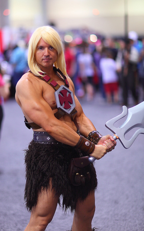 He-Man by Benjamin Dickinson