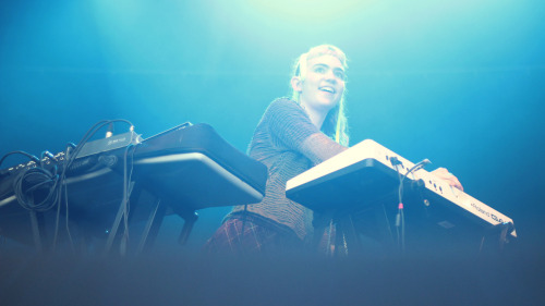 pitchfork:  Grimes at Barcelona's Primavera Sound Festival. Photo by Erez Avissar.