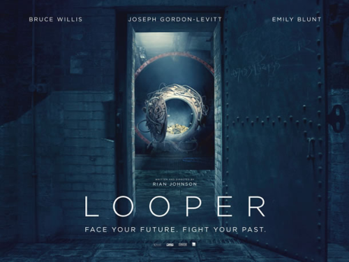 New UK poster for Looper!