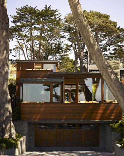 theblackworkshop:  Carmel Residence / Dirk Denison Architects
