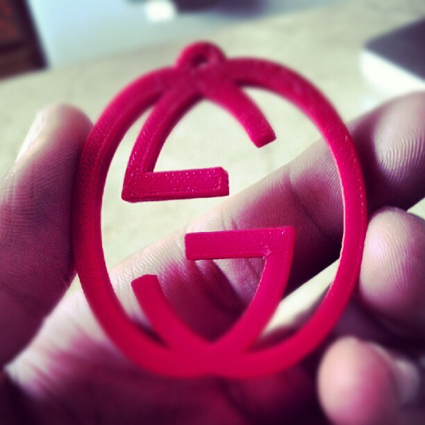 Made this in Engineering class. GUCCI! (Taken with instagram)