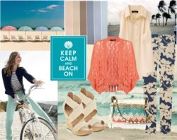 Beach by kamilam featuring crossbody handbags