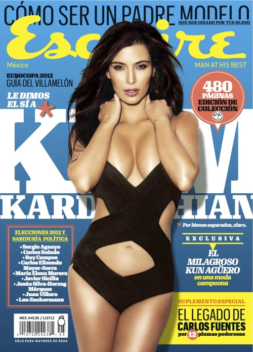 Kim Kardashian is Esquire Latin America's cover girl!