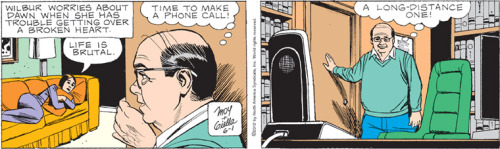"Mary Worth, 6/1/12 Mary Worth, particularly the ""Wilbur"" storyline, is a hair's breadth away from being Clowes… only completely unaware of how pathetic everything about it is.  Basically, it's the only true art."