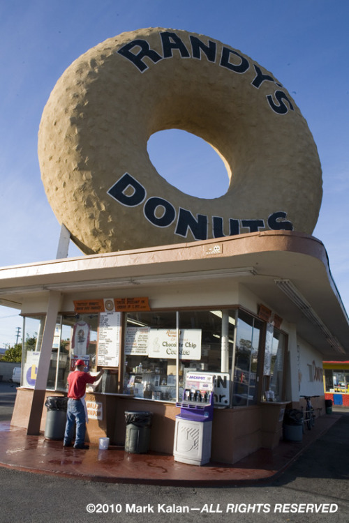 Happy National Donut Day Randy's Donuts, Los Angeles