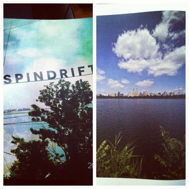 Go pick up a copy of Spindrift 2012 to see a nice photo from myself in the back! Big thanks to Tyson! www.shoreline.efu/spindrift (Taken with instagram)