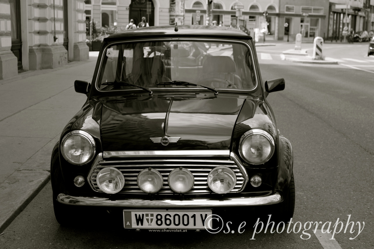 original mini. Vienna, Austria May 2012