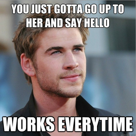 Meme Watch: Attractive Guy Gives Naively Unhelpful Girl Advice
