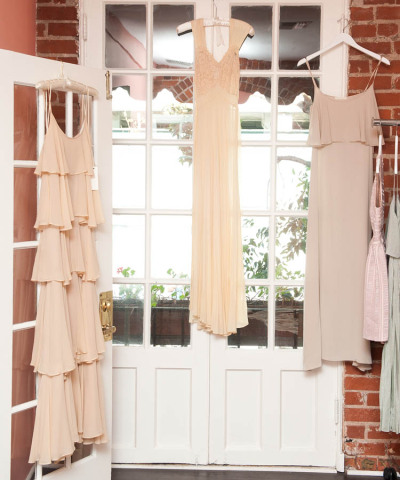 Maxi dresses from Lauren Conrad's closet photographed by The Coveteur