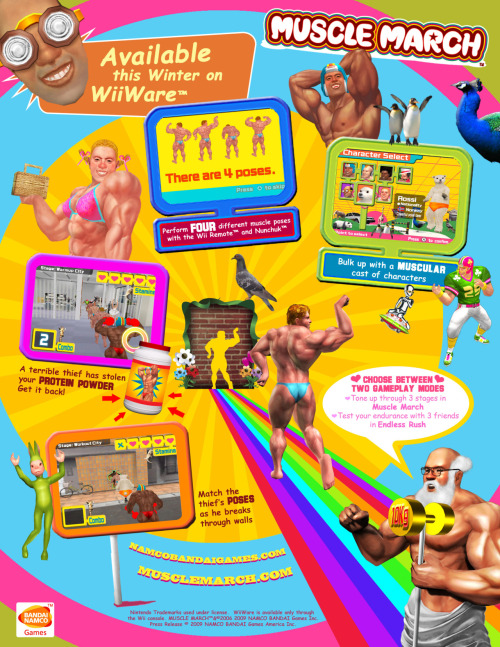 vgjunk:  Muscle March.