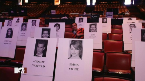 jubbiewong:  Emma and Andrew are going to seat in the front row together.