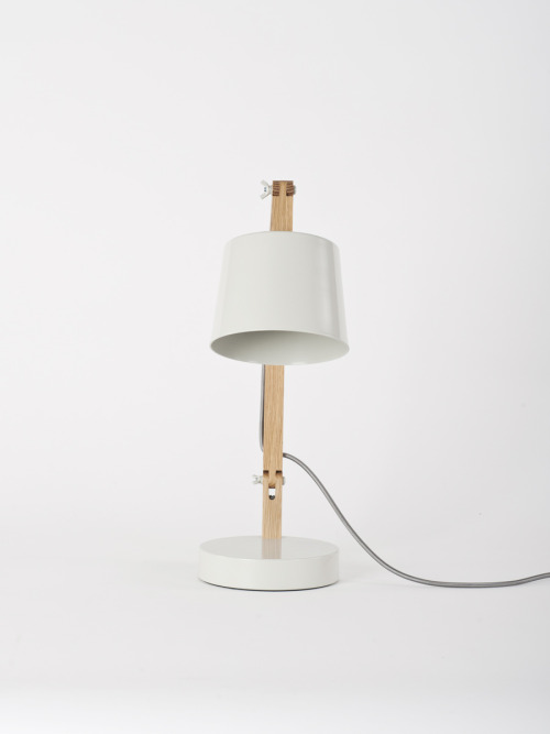 explosionspace:  Grey Angle Table Lamp 2.0