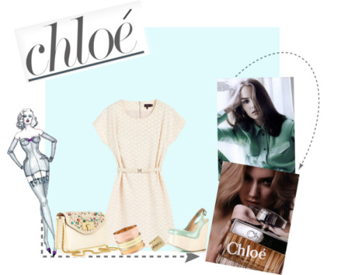 Chloe love by niusity featuring metal jewelry