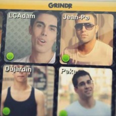 Grindr en tiempos revueltos: Lights Camera Adam y 'Crazy'