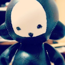 My first Munny ;) Painted almost 4 years ago. I loved doing all the tiny marks on the head :3