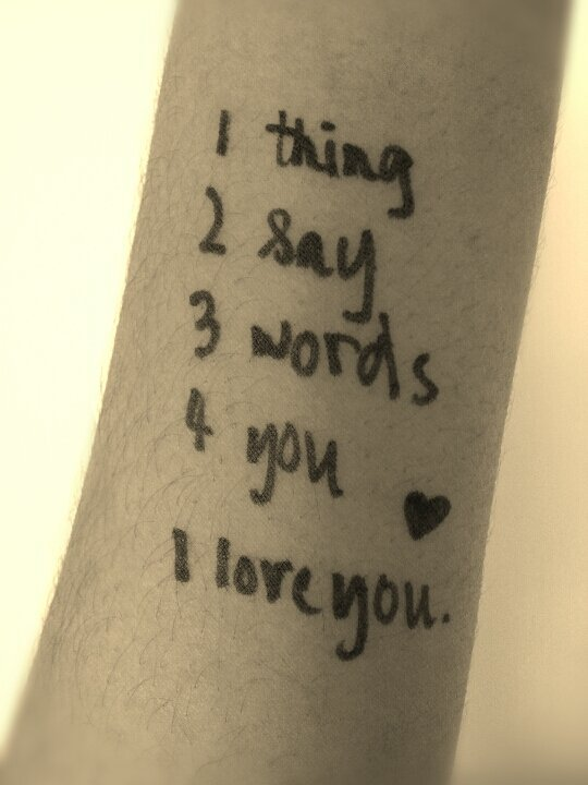 caleinfocus:  1 Thing 2 Say 3 Words 4 You    <3 I LOVE YOU!