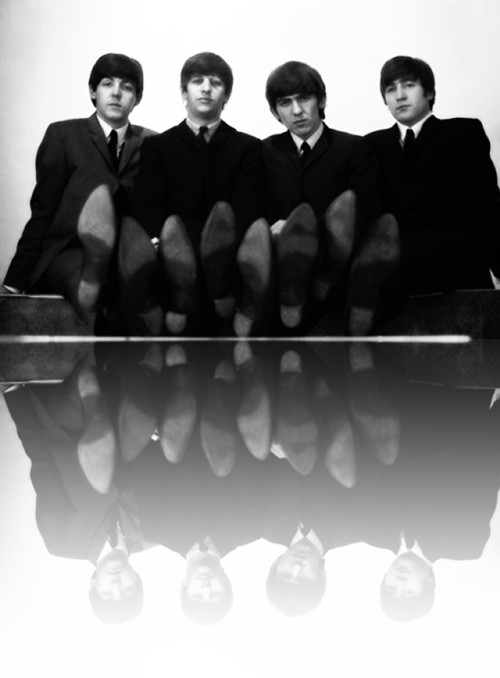 The Beatles and their boots