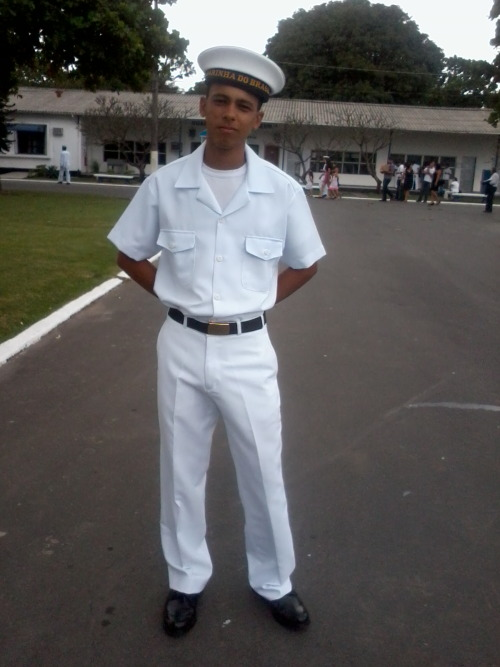 My great day! My graduation in Brazilian Navy