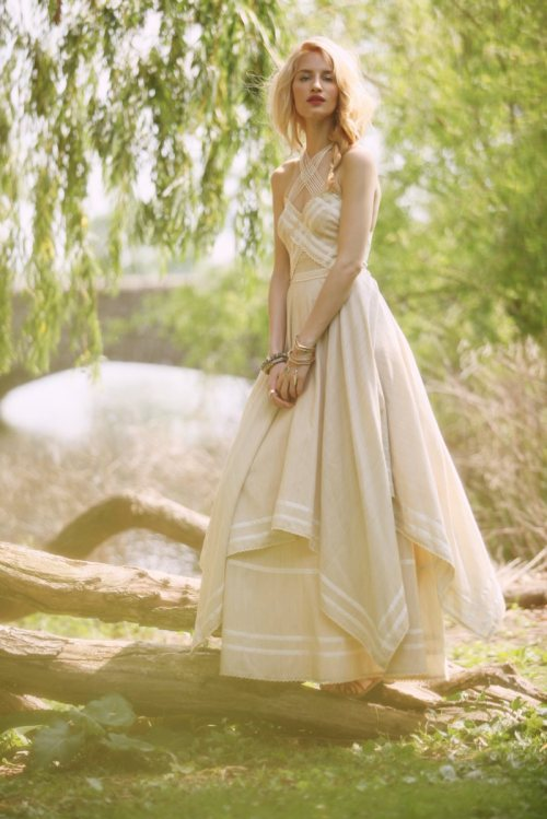Linda Vojtova for Free People's collection of Limited Edition Summer Dresses (Via Fashion Gone Rogue)