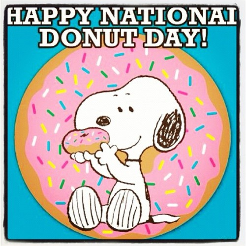 Happy Donuts Day !!! #instahappy #instacuchi #peanuts #donuts  (Taken with instagram)